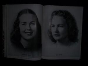 1947 WESLEYAN COLLEGE FOR WOMEN YEARBOOK  MACON GA  GEORGIA KNOWN AS VETERROPT!