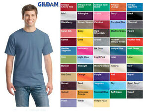 top design select for genuine price Details about WHOLESALE Gildan Heavy Cotton Blank T-Shirt All Colors Tee  BULK LOT New! S-2XL