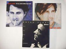 Unique Lot de 3 CD Single ▬ BRYAN FERRY ▬ Port GRATUIT