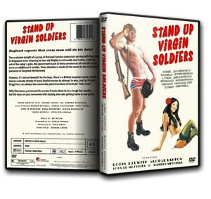 STAND UP VIRGIN SOLDIERS  Robin Askwith Warren Mitchell 1977 DVD PAL - -, United Kingdom - STAND UP VIRGIN SOLDIERS  Robin Askwith Warren Mitchell 1977 DVD PAL - -, United Kingdom