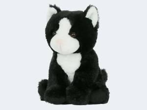 SEMO-Soft-Babies-Katze-schwarz-18cm-Kuscheltier-Stofftier-Pluschtier-Spielzeug