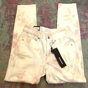 Msrp Størrelse Skinny 34 Us Print Kort 4 Parla 266 Floral Jeans Nwt Cambio 6wSgqPxS