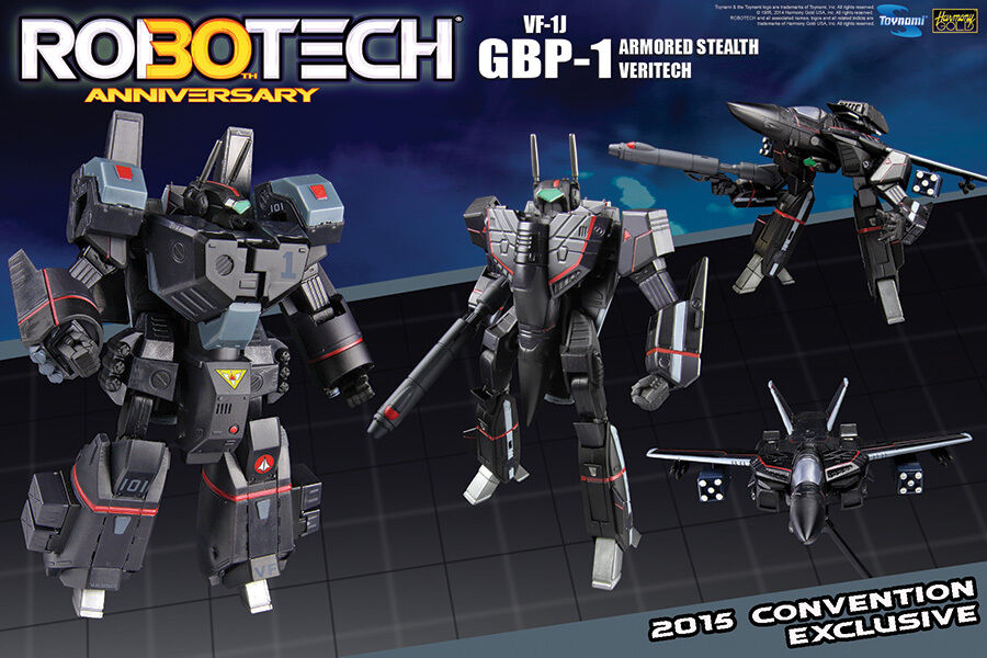 Macross Robotech VF-1J GBP-1 Armored Stealth Veritech - 2015 SDCC exclusive