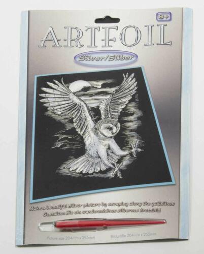 Grattoir Feuille A4 Gravure Art-Silver Edition 237