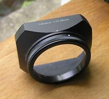 original metal Asahi Pentax Takumar 51mm clamp on Lens Hood