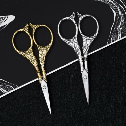 Europäische Fadenschere Nähschere Handarbeitsschere Textilschere Silber