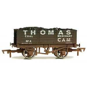 En Herbe Dapol 4f-052-026 Ouvert Wagons 5 Plank 9ft Thomas No. 4 Vieilli Piste 00-afficher Le Titre D'origine