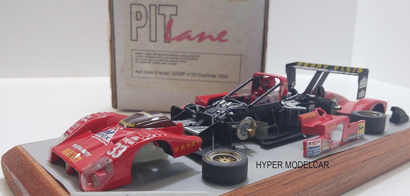 PIT LANE 1 43 Ferrari 333 Sp Daytona 1995 Art. 143001 - no bbr