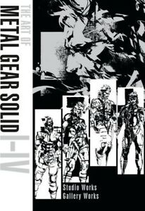 The-Art-of-Metal-Gear-Solid-I-IV-New-Book-Hardcover-Illustrated