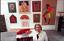 "thumbnail 5 - Miriam Schapiro Vintage Art Poster Fan 17"" x 22"""