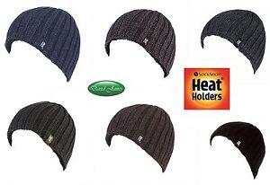 Mens Heat Holders 4.7 Tog Heat Weaver Winter Warm Thermal Hat ... 39c8a9c79d02