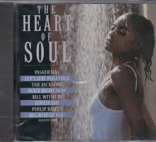 Heart of Soul Bill Withers, Champaign, Gregory abbott, Jacksons..  [CD]