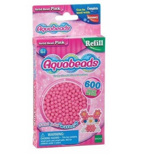 Aquabeads 32588 Perlen pink Nachfüllpack