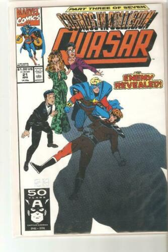 Your Choice of #/'s 11-37 Marvel 1990-1992 Quasar