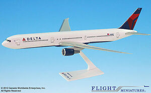 Delta-Air-Lines-Boeing-767-400-1-200-NEU-Flugzeug-Modell-B767-Airlines
