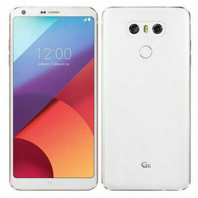 LG G6 - 32GB - H873 GSM INTERNATIONAL UNLOCKED. WHITE - ICE PLATINUM - BLACK