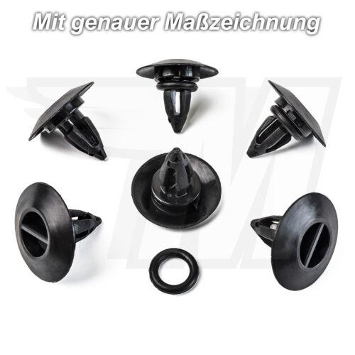 10x Déguisement Fixation clip Pour BMW x3 x5 x6 Mini Cooper51777171003