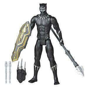 Avengers Marvel Titan Hero Series Blast Gear Deluxe Black Panther Action Figu...
