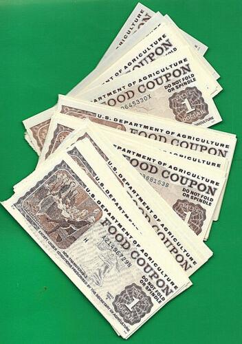 FOOD STAMP COUPON $1.00 1994 B  MONEY UNC ONE COUPON  USDA  SCRIP