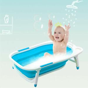 Babyjoy Blue Baby Folding Bathtub Infant Collapsible Portable Shower Basin