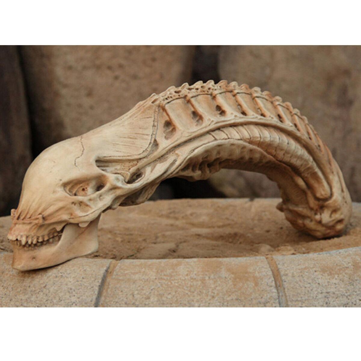 1:1 Xenomorph PROTator Squelette Modèle Alien Figurine Extraterrestre Film Décor