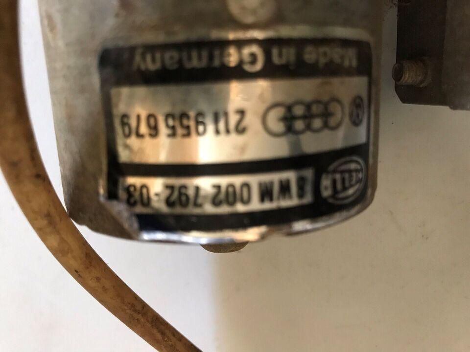 Original sprinkler lygte vasker pumpe, VW