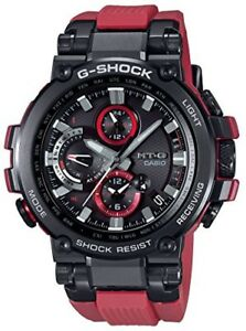 CASIO-Watch-G-SHOCK-MT-G-Bluetooth-Radio-Solar-MTG-B1000B-1A4JF-Men-039-s