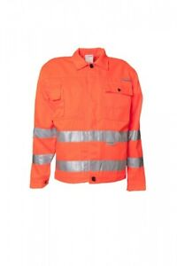 Vente Pas Cher Planam Travail Veste Bundjacke Warnschutz 2001 Orange Taille 56 Neuf-afficher Le Titre D'origine