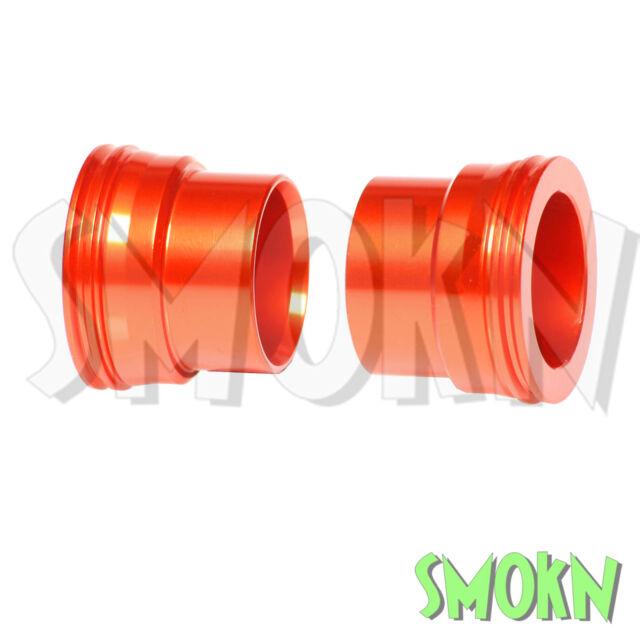 RFX Front Wheel Spacers fit KTM SX 250 350 400 450 525 530 EXC-F XC 03-14 Orange