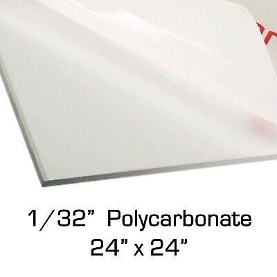 2,0/mm Lexan/® Policarbonato Placa Pizarra Formato 680/x 620/mm transparente//transparente
