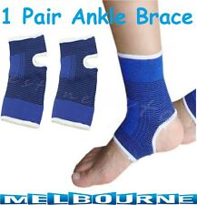 1 Pair Ankle Protection Foot Brace Support Band Sports Gym Shin Anklet Guard Pcs