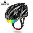 RockBros MTB Road Cycling Helmet with 3 Sunglasses Lenses Adjustable 57-62cm
