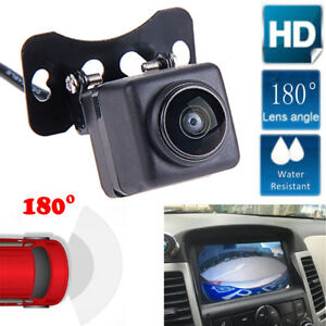 180°HD CCD Car Rear View Reverse Backup Parking Camera Night Vision Waterproof