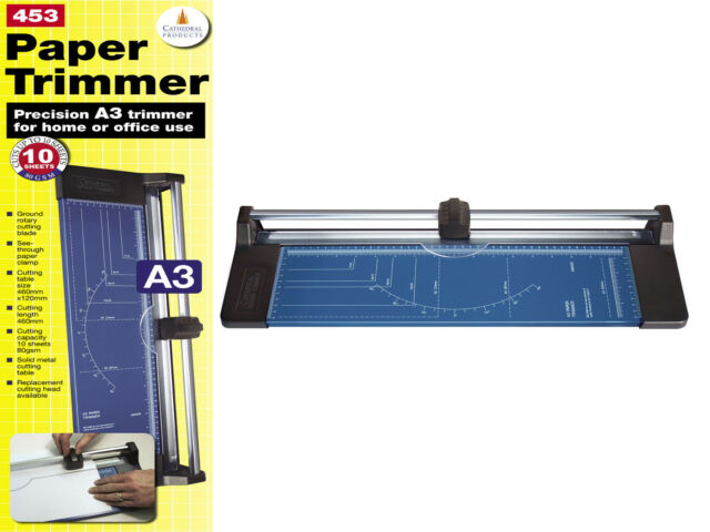 Guillotine Paper Cutter Cathedral A4 A3 Paper Trimmer