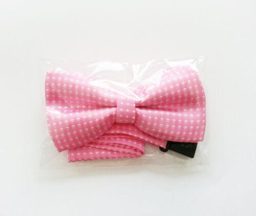 New Kids silk Bow tie Pre tied Clip Fasten Boys Bowtie Pre Tied Wedding Bow Tie