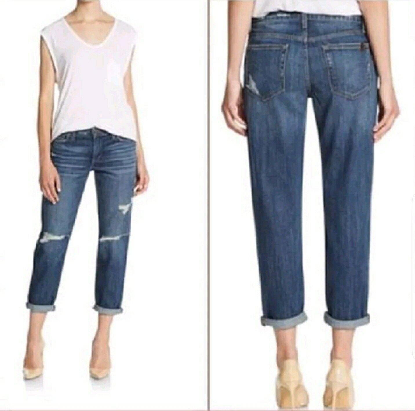 Joe's Jeans distressed boyfriend jeans (aura) sz 29 NWT
