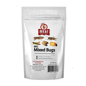 Image Is Loading Meat Maniac Bbq Mixed Bugs Edible Insect Bug