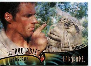 Farscape Through The Wormhole The Quotable Farscape Season 1 Chase Card Q1.1