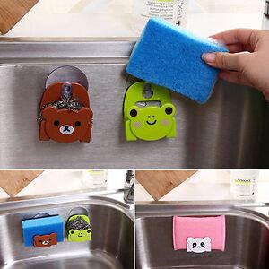 Cartoon porte eponge support evier ventouse lavabo bac for Ventouse cuisine