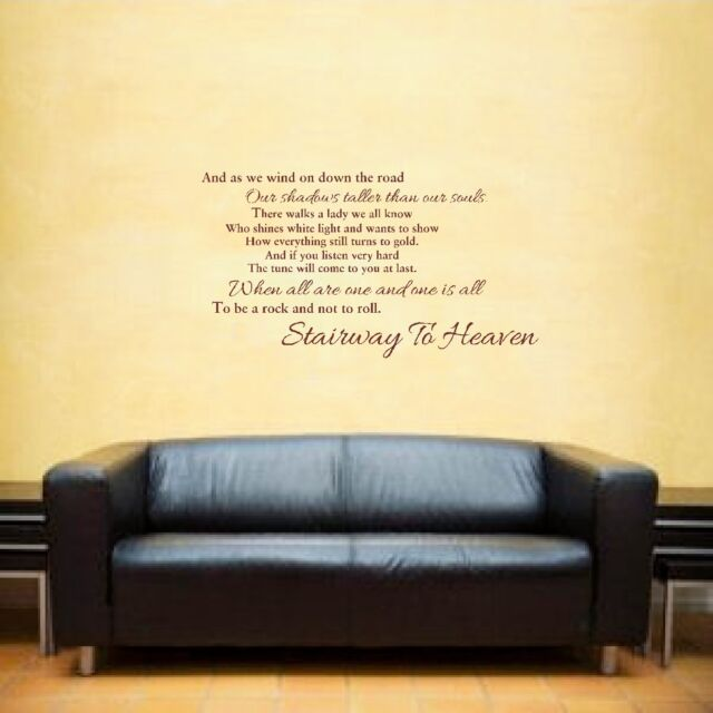 LED Zeppelin Stairway to Heaven Music Lyrics Inspirational Quote ...