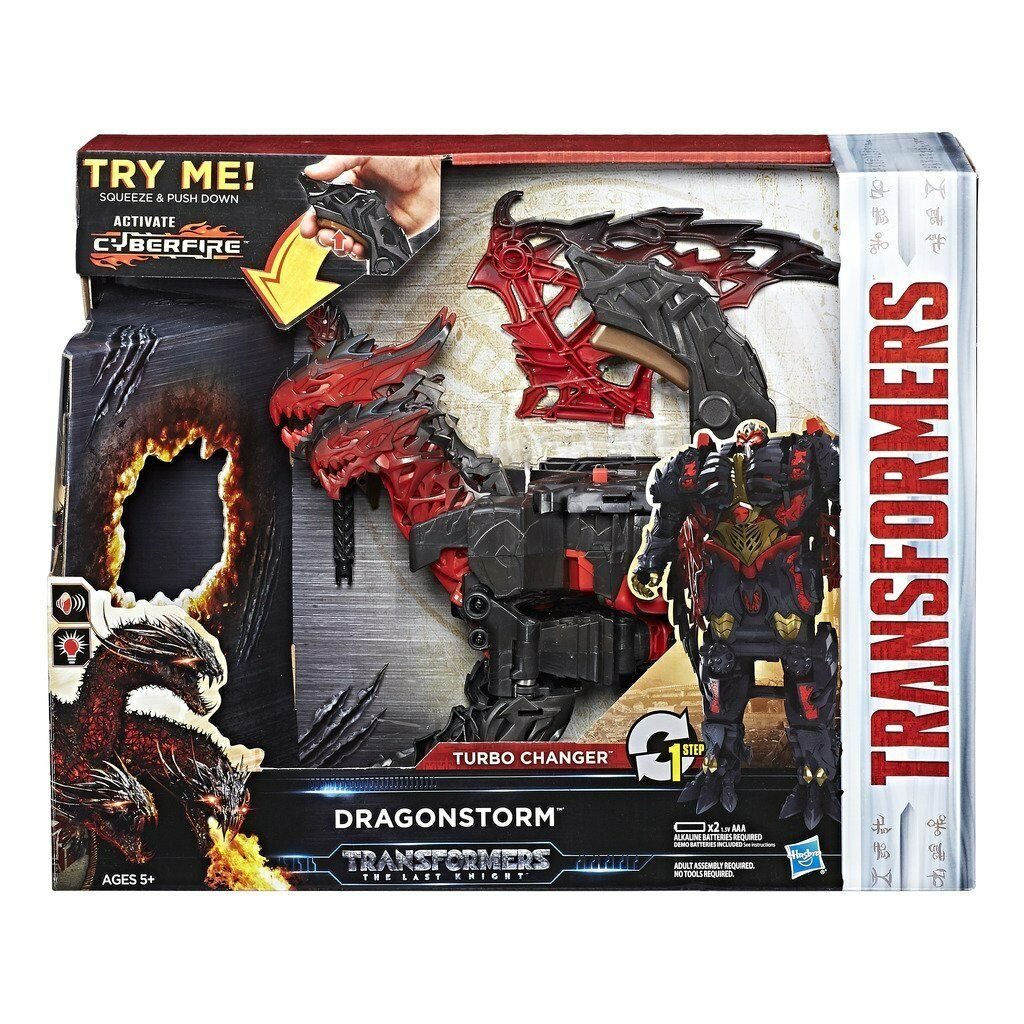 Hasbro Transformers le dernier chevalier Turbo Echangeur Dragonstorm New