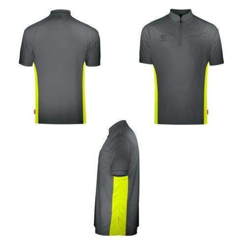 Grey /& Yellow Collarless Dart Shirt Target CoolPlay