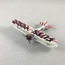 FUTS Aeroplane Circus Diecast Biplane by Zee Dyna-Flites Zylmex Model A113 Spad.
