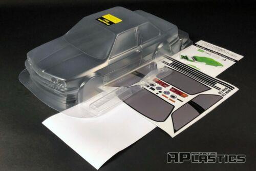 RC Body Car Drift 1:10 BMW 3 E 30 Coupe E30 LTO style APlastics New Shell Kit