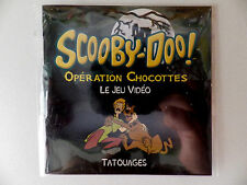 Goodies jeux TATOUAGE TATOO scooby-doo opération chocottes
