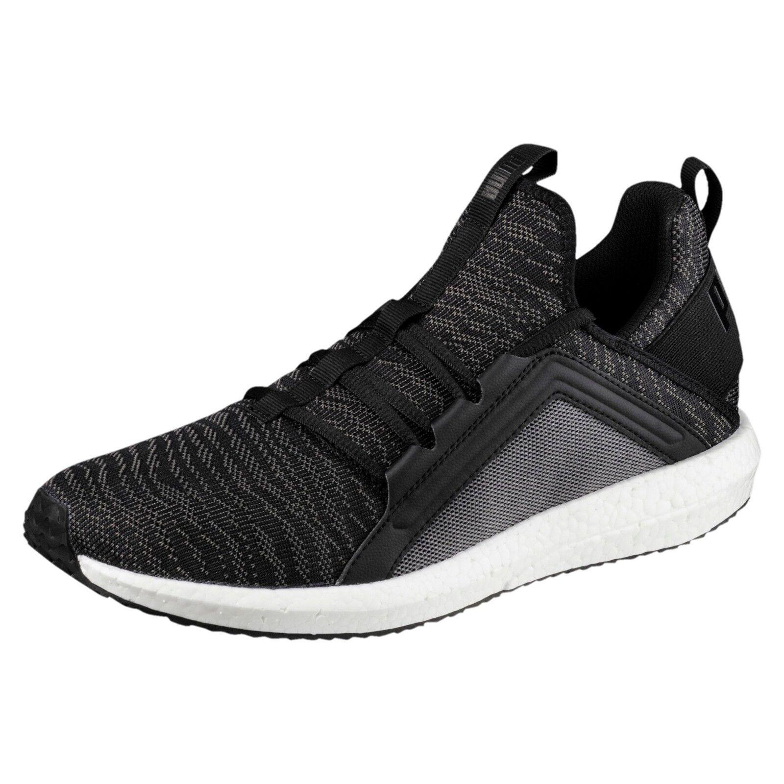 New Puma mega nrgy zebra mens running shoes black quiet shade 190975-01 men's