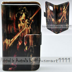 For-Samsung-Galaxy-Note-Series-Violinist-Print-Wallet-Mobile-Phone-Case-Cover