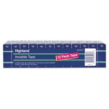 Highland Invisible Tape 34 X 1000 1 Core 12pack Mmm6200k12