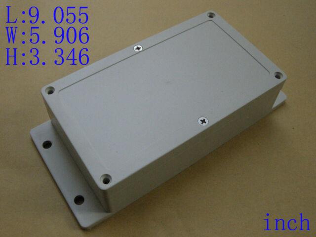 "New Plastic Project Box Enclosure Case Electronic DIY 9.055""x5.906""x3.346"" Ear"