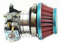 Carburetor & Hp Air Filter For 33cc 43cc 49cc Mini Chopper Pocket Super Bike